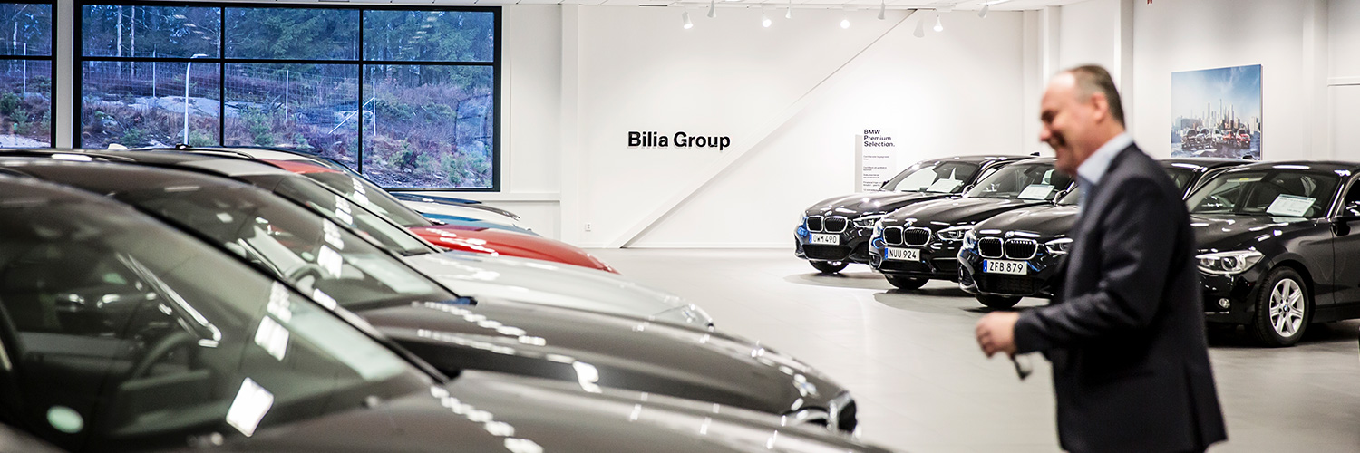Bilia Group begagnade bilar
